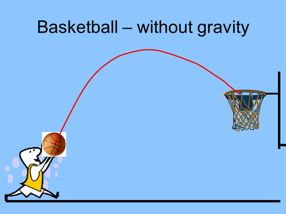 Basketball – without gravity