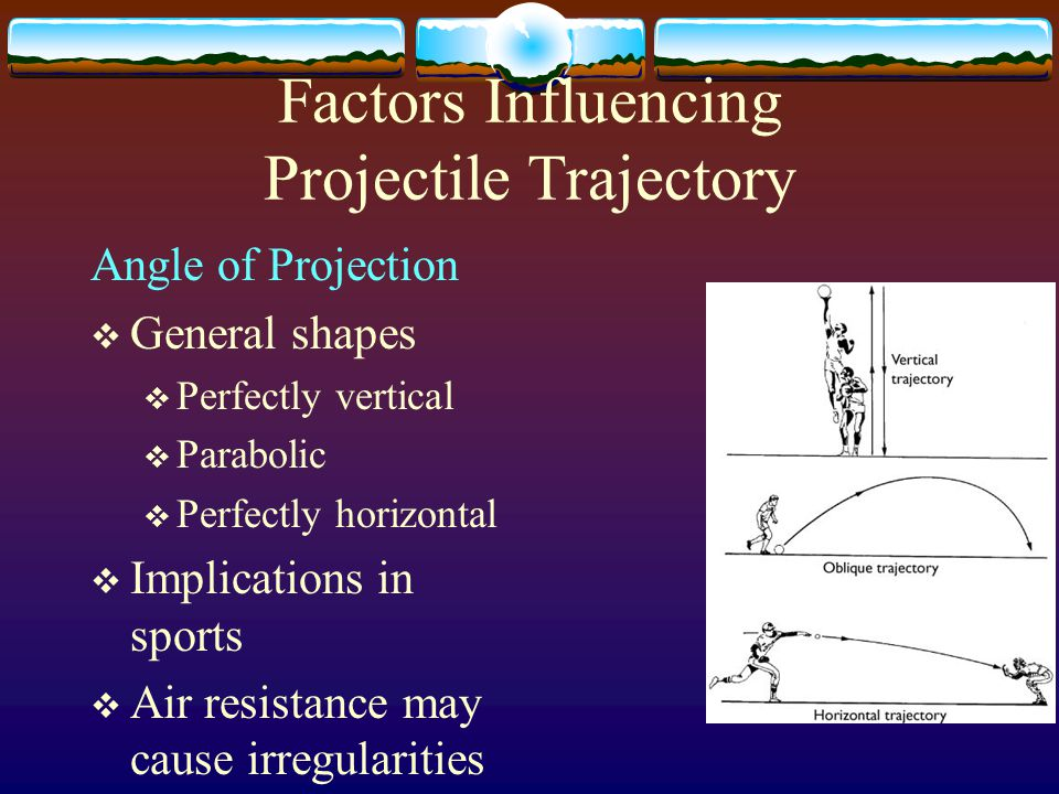 Factors Influencing Projectile Trajectory