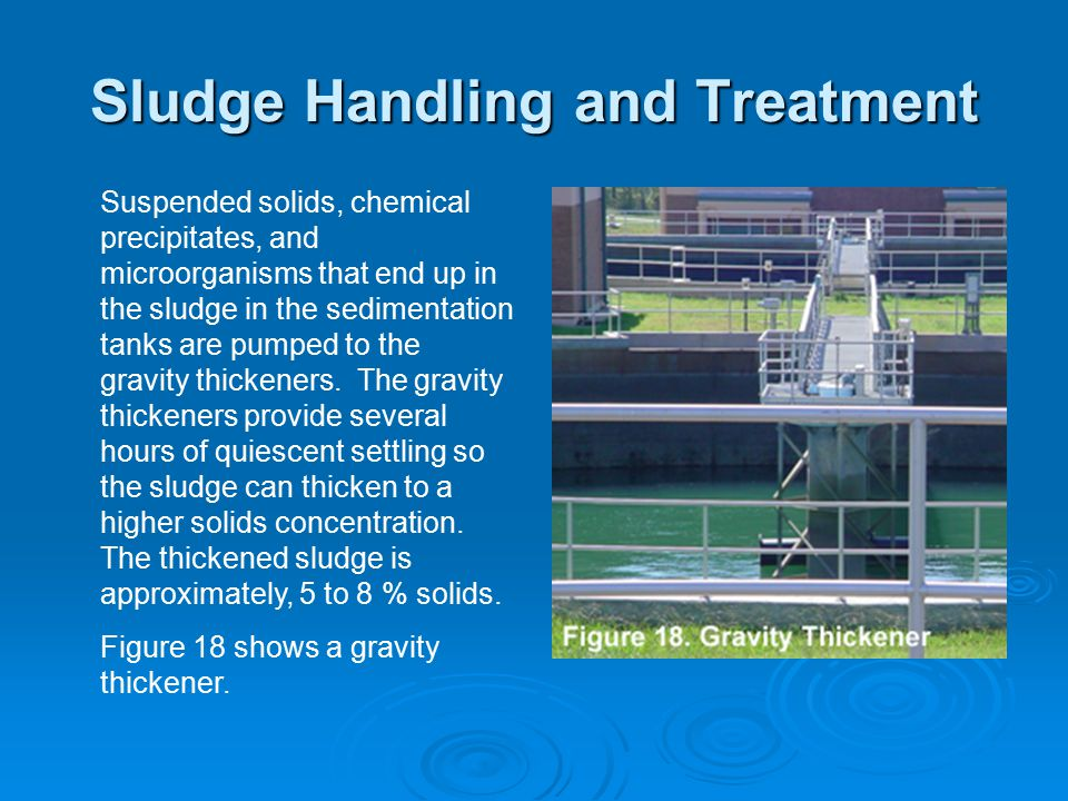 Sludge Handling and Treatment