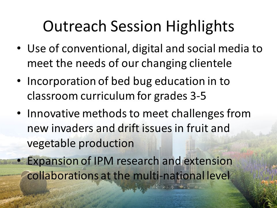 Outreach Session Highlights