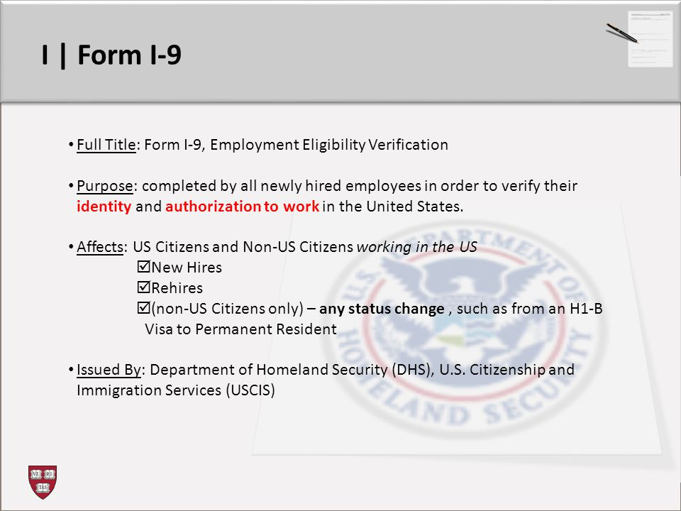 form i-9 training ppt  Form I-6: Refresher Training - ppt video online download