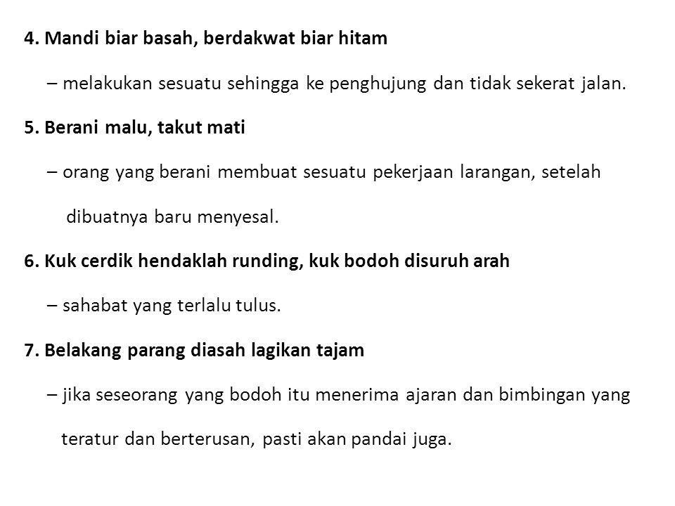 Peribahasa 5 Bidalan M S 115 Ppt Download