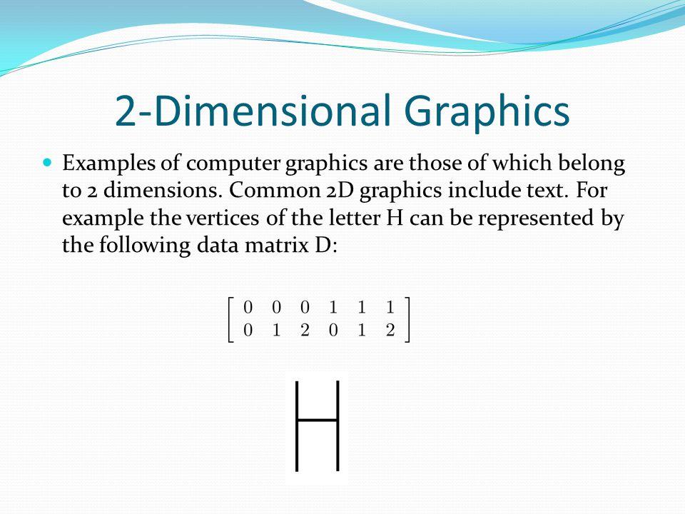 Linear Algebra Application: Computer Graphics - ppt video online