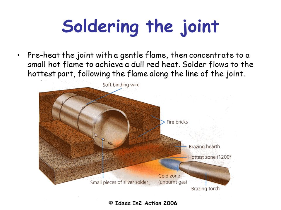 how to use soft solder