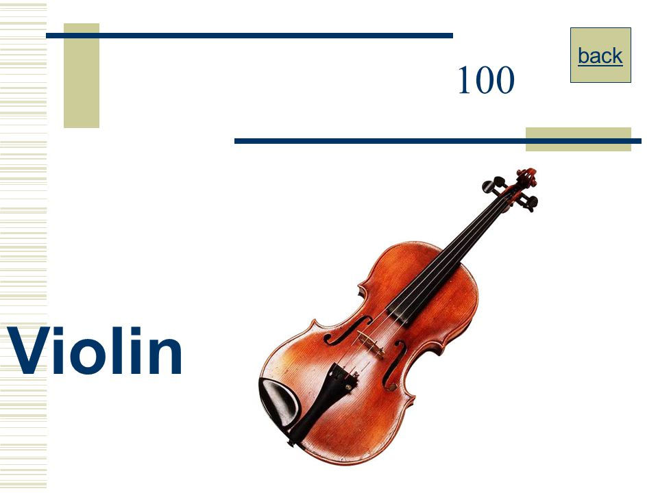 Music JEOPARDY Family of Instruments By A  Vilcins - ppt