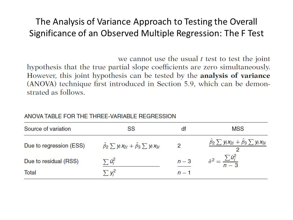 an observation of the outcomes of using regression analysis Regression analysis is used in stats to find trends in data ordinary linear regression usually isn't enough to take into account all of the real-life factors that have an effect on an outcome using the regression equation to predict the removed observation cross validation isn't a magic cure for small.
