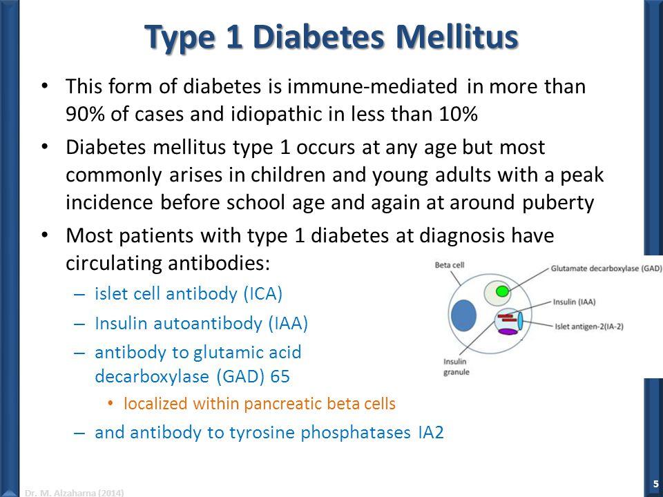 pathophysiology of type 1 diabetes mellitus pdf