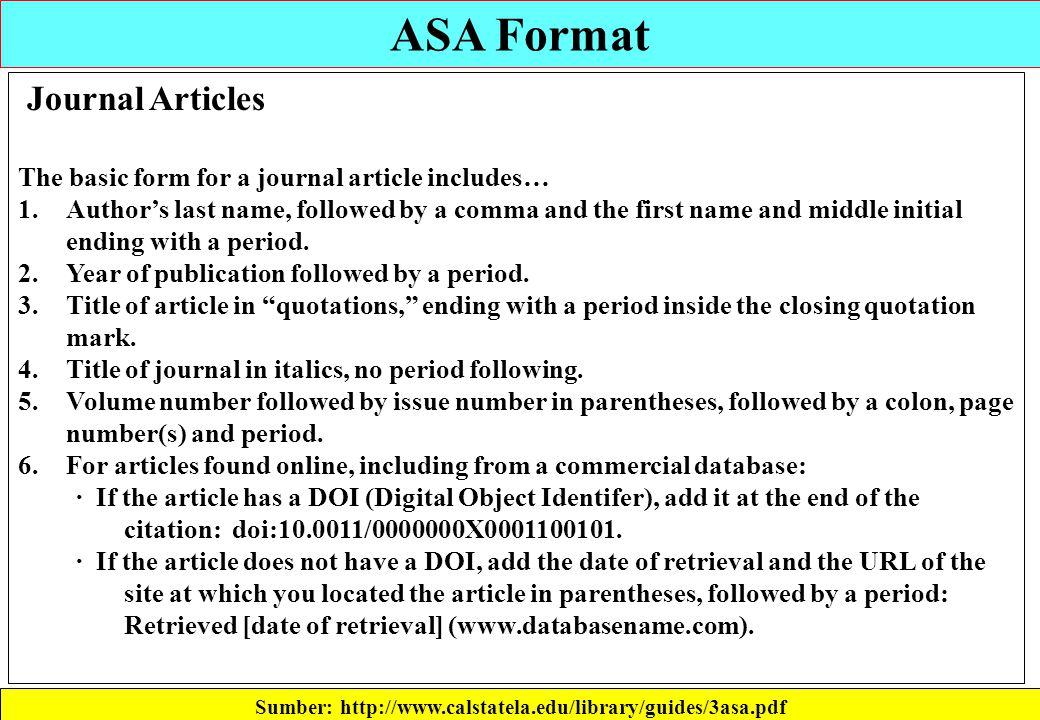 how to cite a website asa