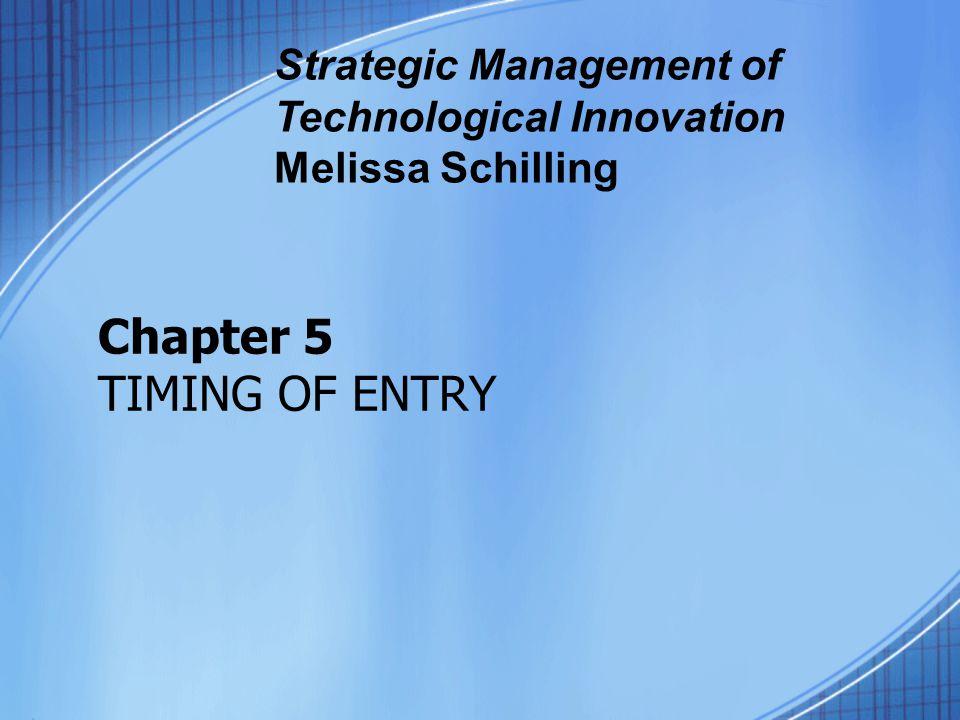 strategic management of technological innovation melissa schilling pdf