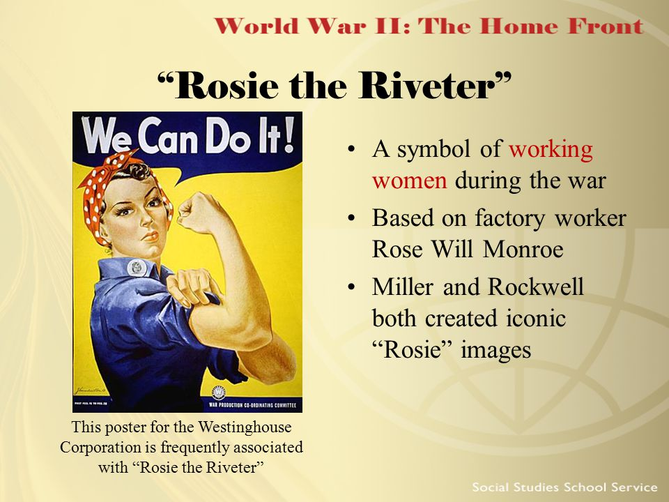 World War Ii The Home Front 1 Ppt Download
