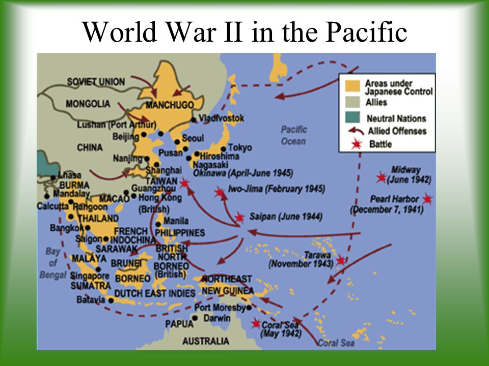 World war ii in the pacific ppt download world war ii in the pacific 21 world gumiabroncs Image collections