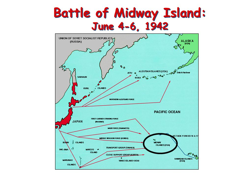 Battle of Midway Island: June 4-6, 1942