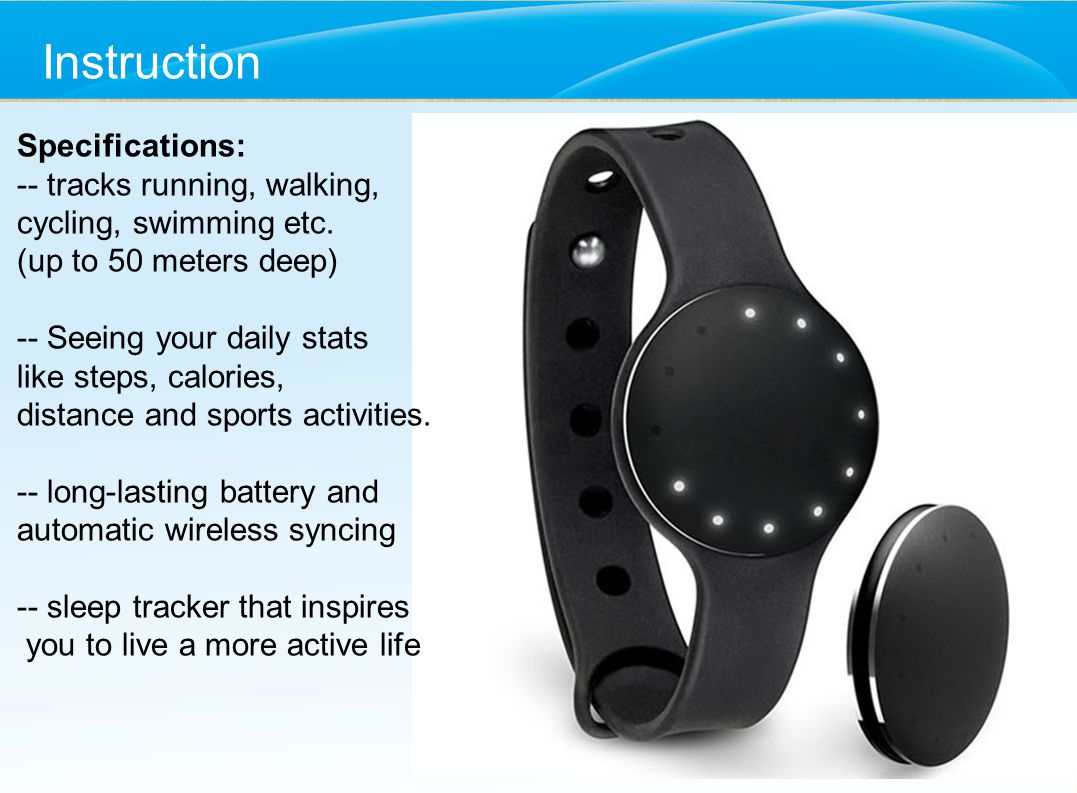 2015 Health Wearable Smart Bracelet Swd Ppt Video Online Download