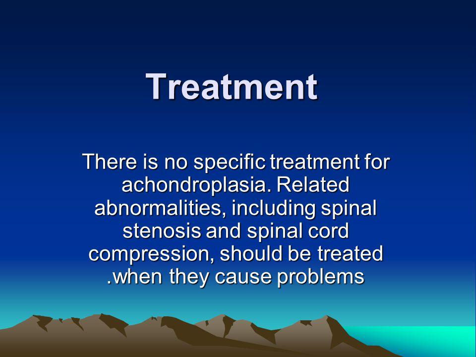 Prognosis for achondroplasia