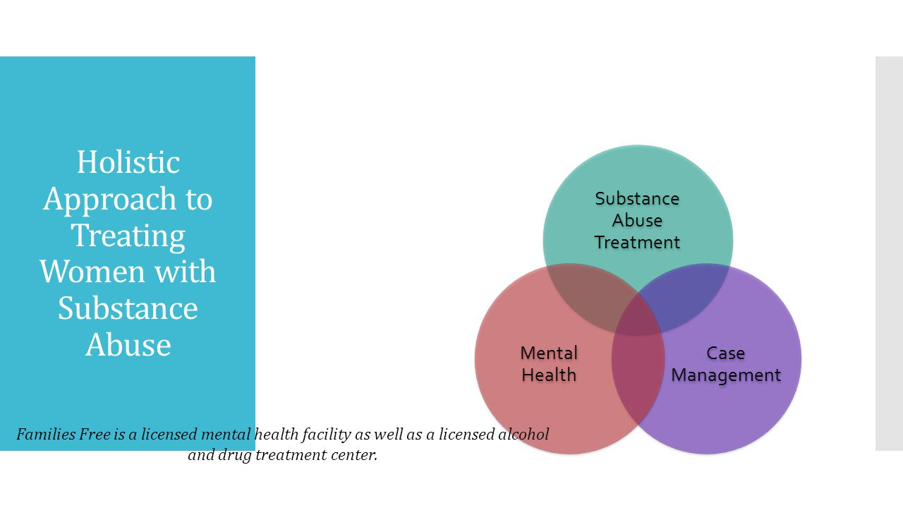 Holistic Approach to Treating Women with Substance Abuse