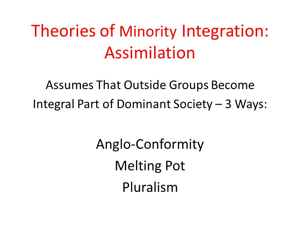 milton gordon seven stages of assimilation