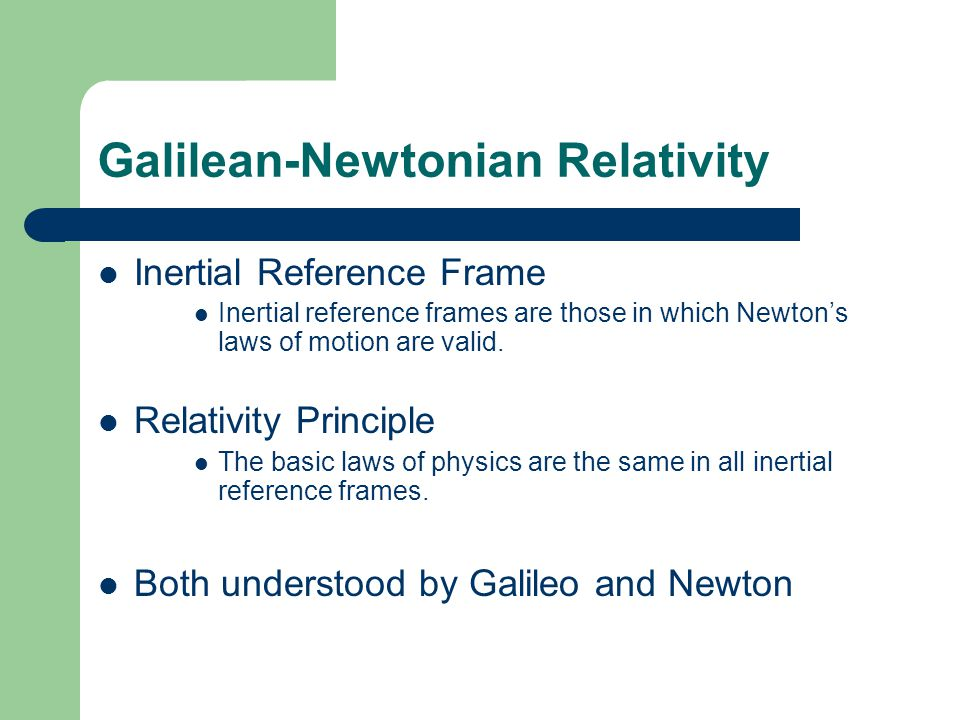 Special Theory of Relativity - ppt video online download