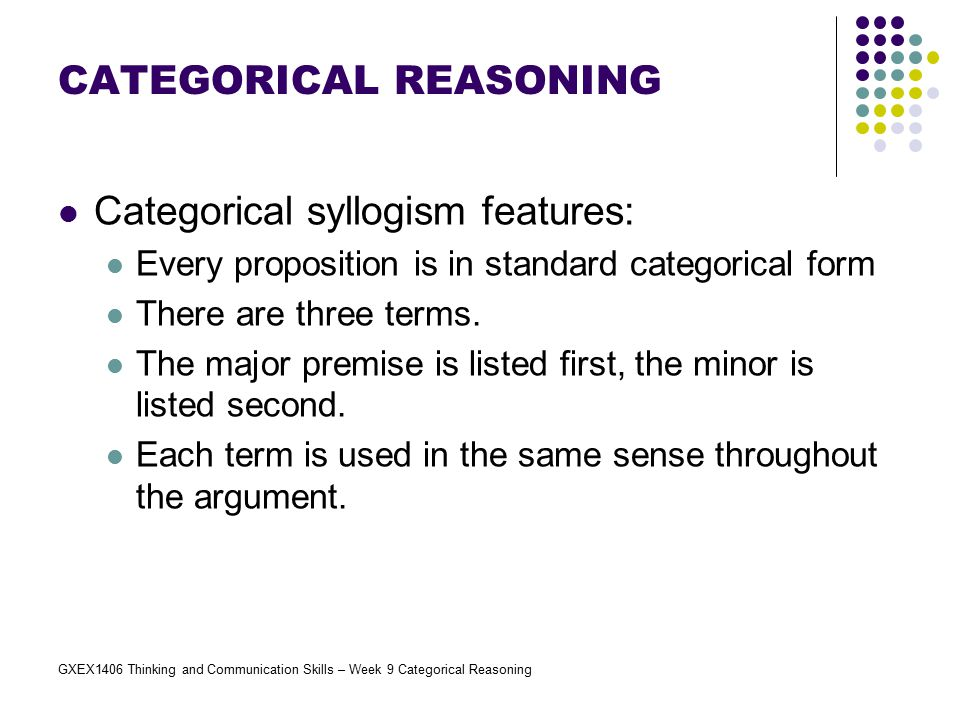Categorical Reasoning Ppt Video Online Download