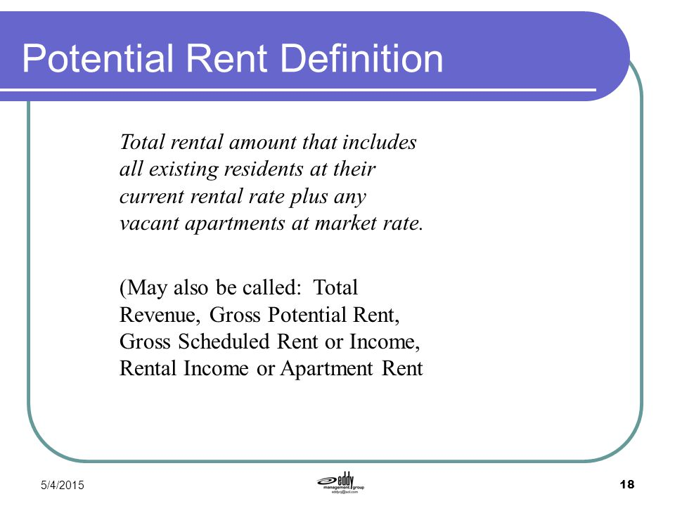 rental income definition