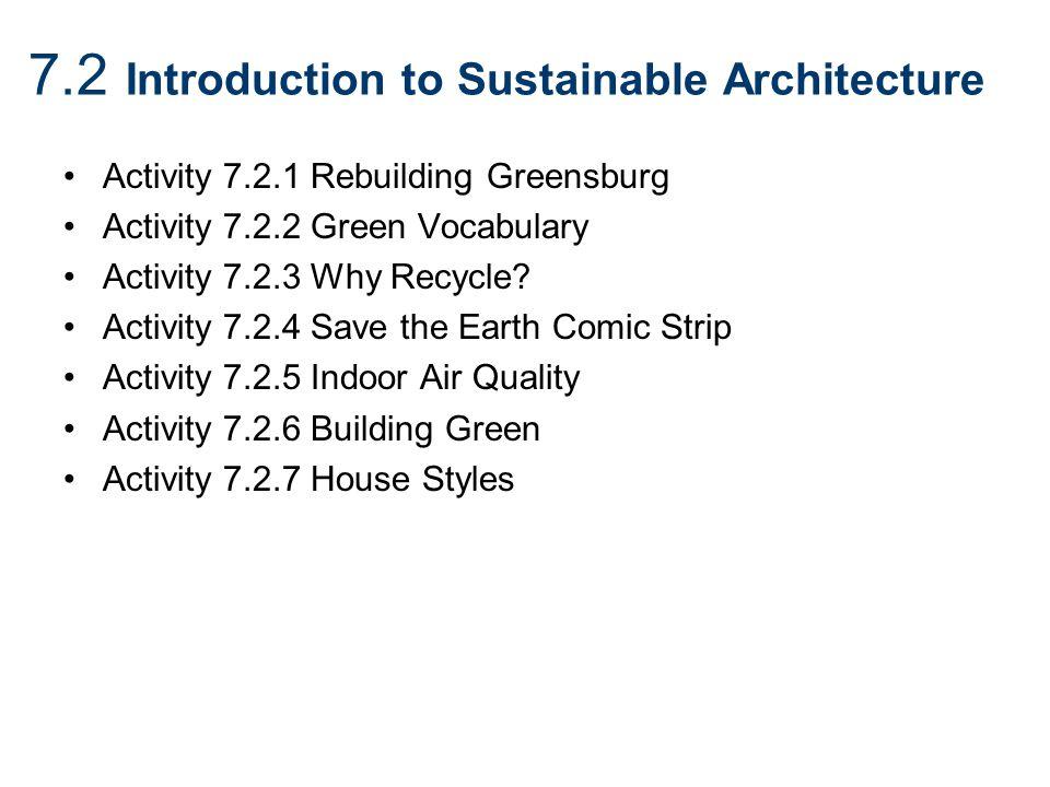 GTT Unit 7 Green Architecture Ppt Video Online Download