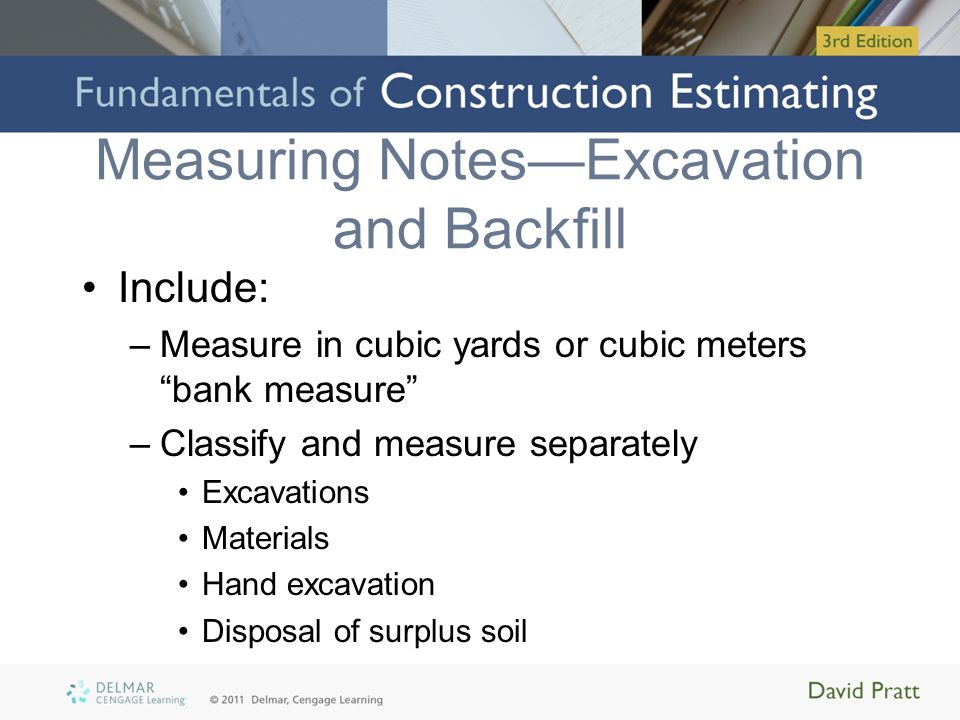 Measuring Sitework, Excavation, and Piling - ppt video