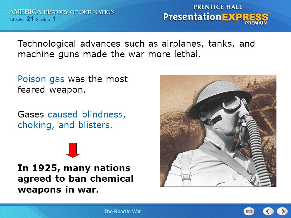 Technological advances such as airplanes, tanks, and machine guns made the war more lethal.