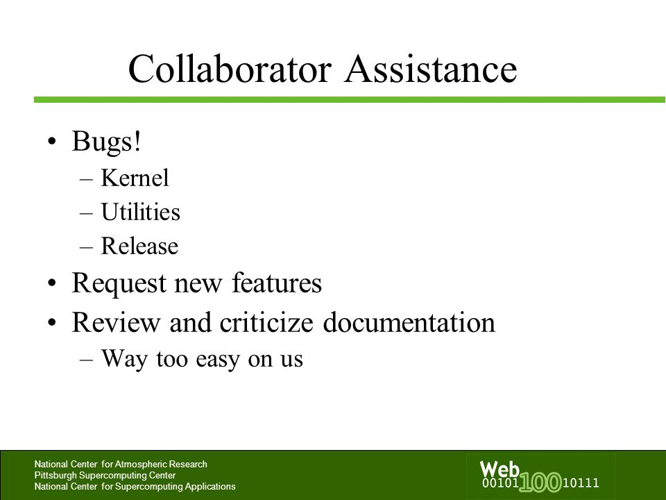 Collaborator Assistance