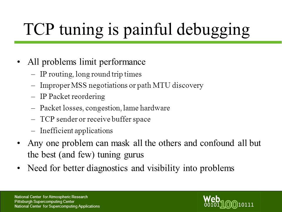 TCP tuning is painful debugging