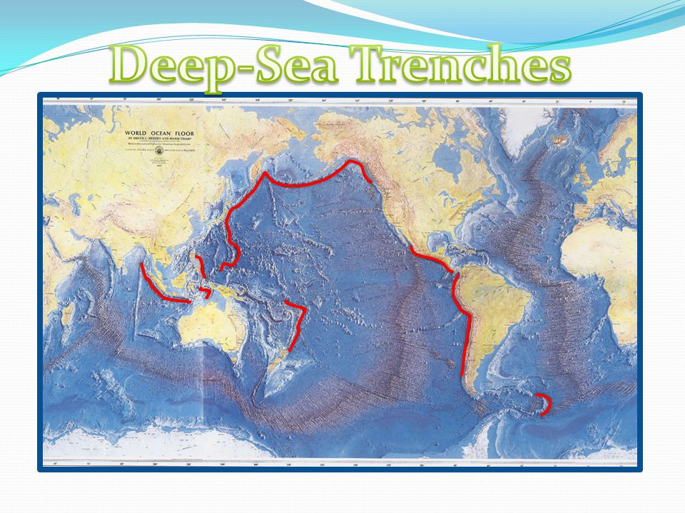 Plate tectonics goal homework warm up ppt download 7 deep sea trenches gumiabroncs Images