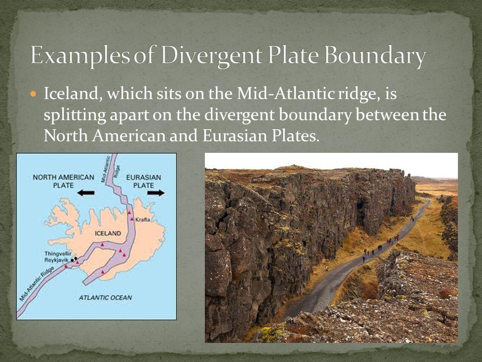 Plate boundaries plate tectonics.