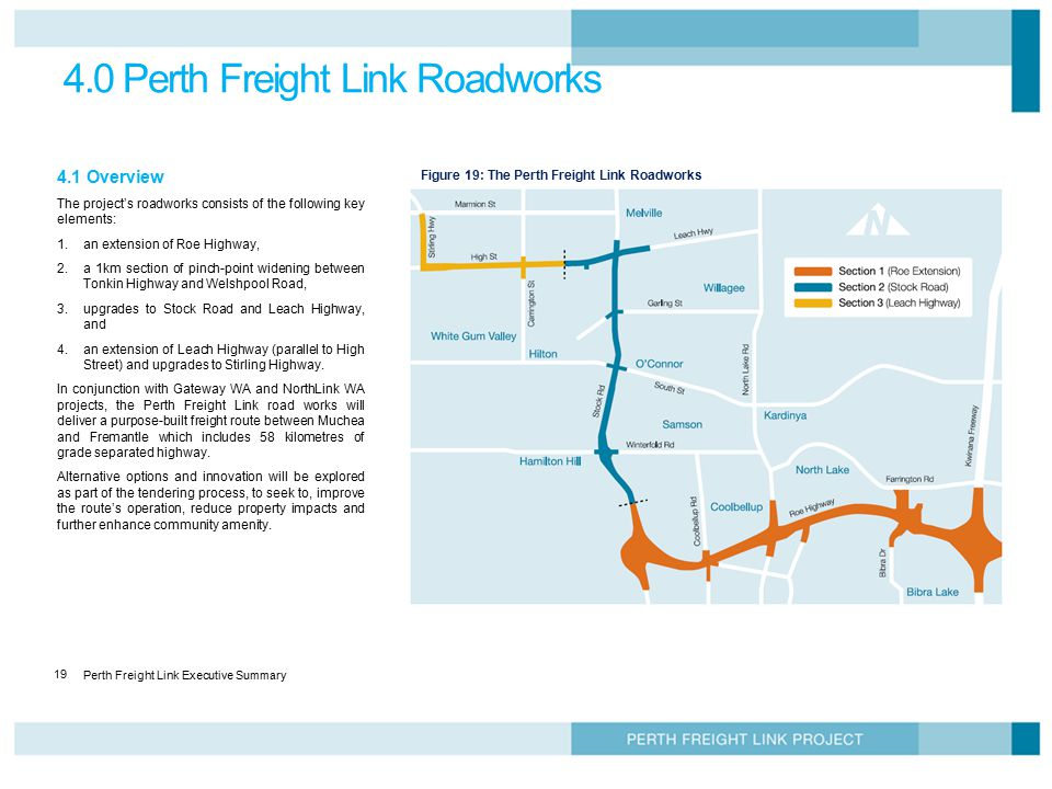 Perth Freight Link Business Case Executive Summary December ppt download
