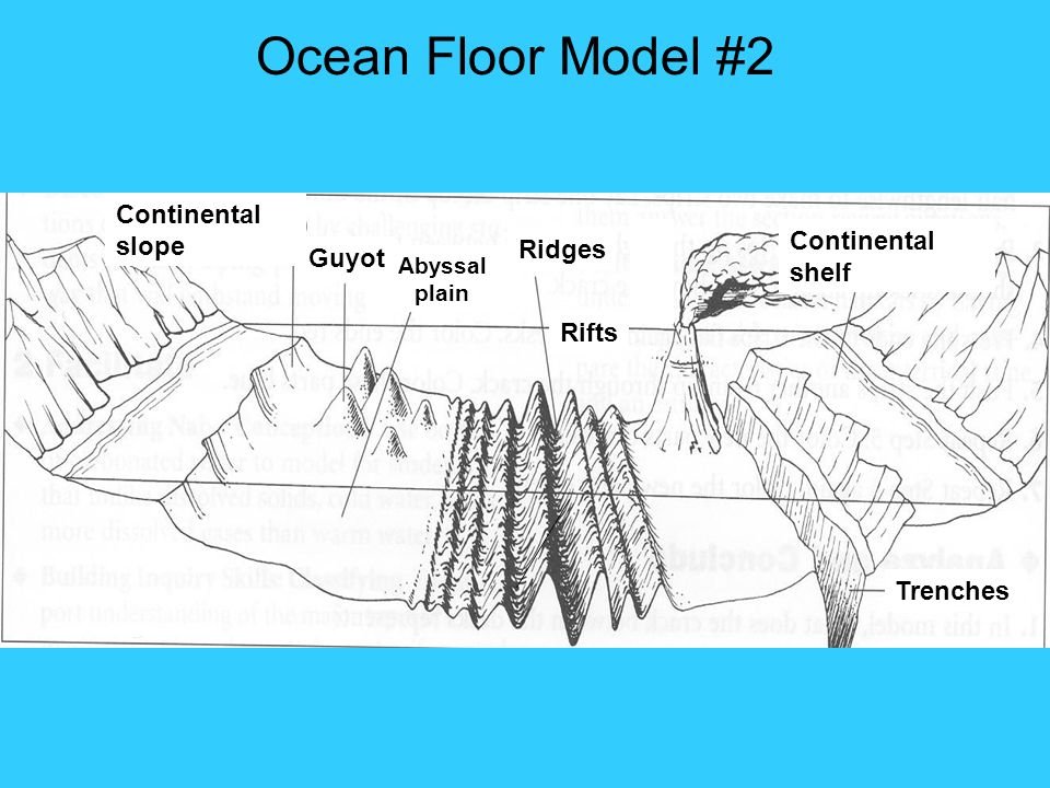 Diagram Of The Model Of Ocean Floor Search For Wiring Diagrams