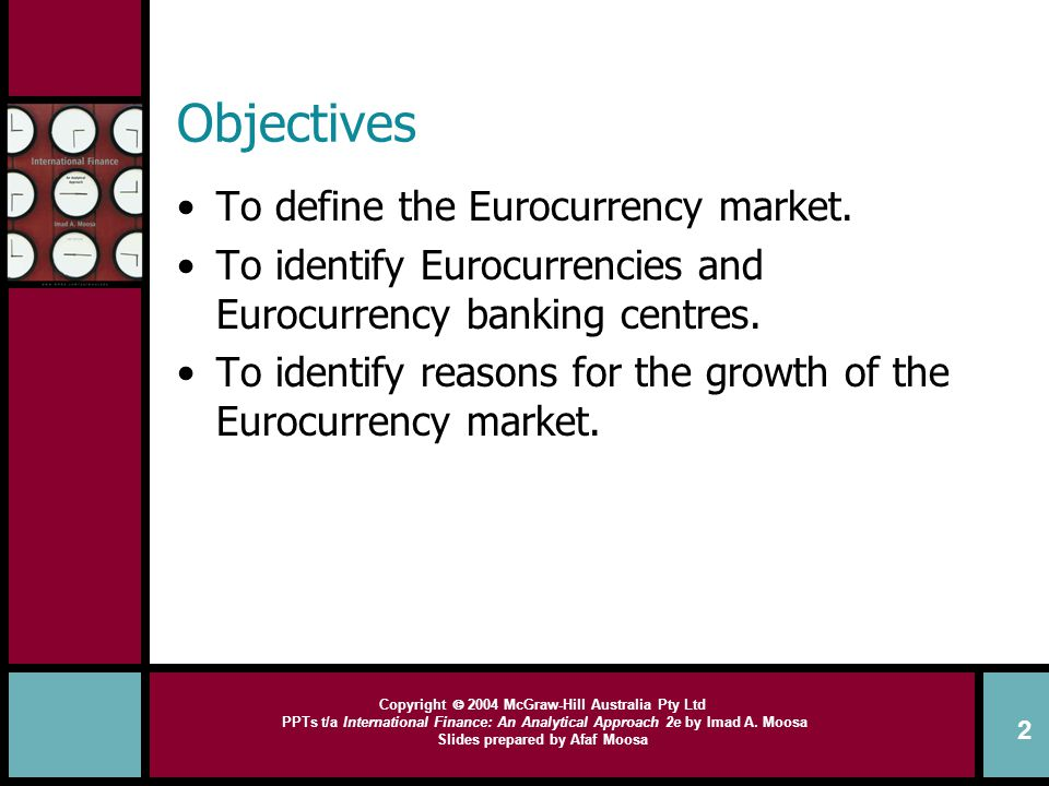 disadvantages of euro currency market