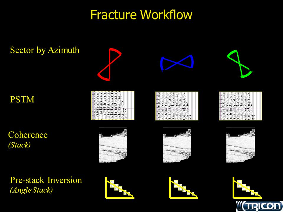 Fracture Workflow Sector by Azimuth PSTM Coherence Pre-stack Inversion