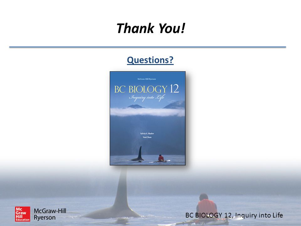 BC BIOLOGY 12 Inquiry into Life  - ppt video online download