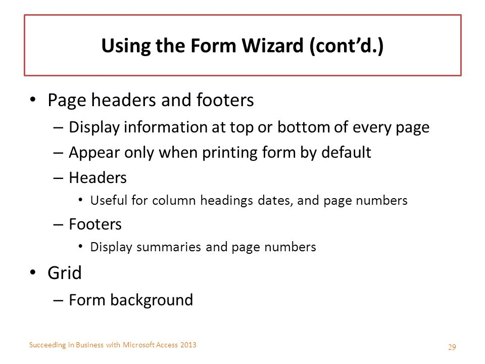 Collecting Data with Well-Designed Forms - ppt video online