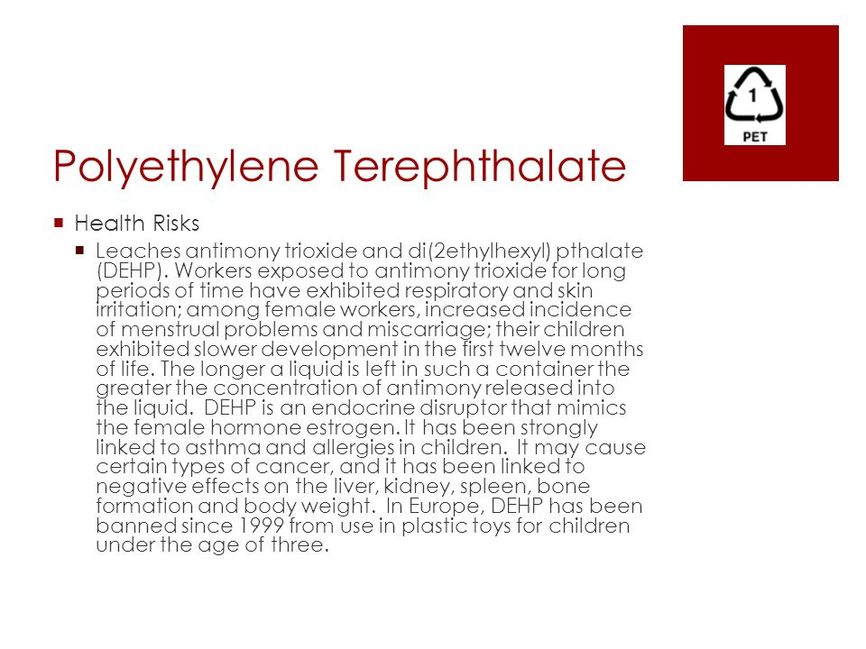 Potential Health Risks - ppt download