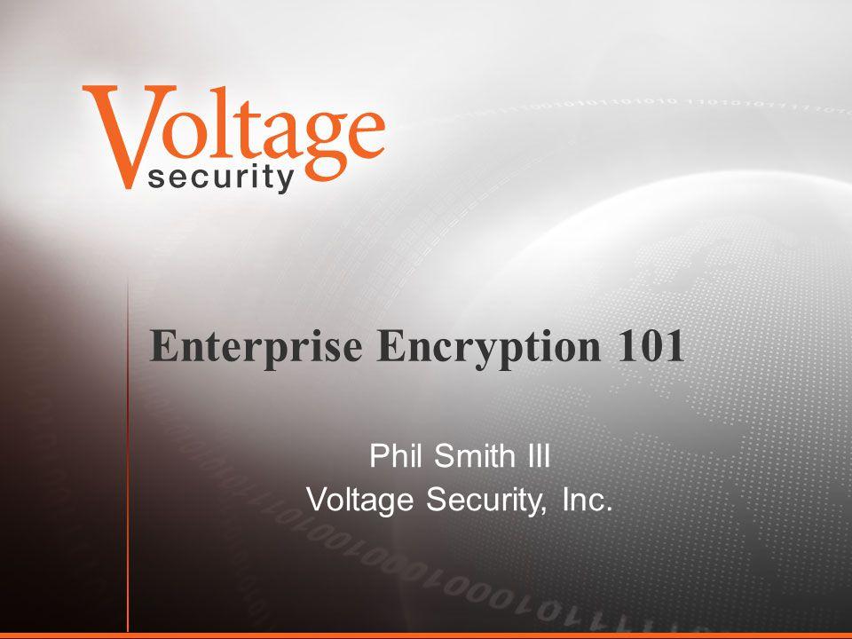 Enterprise Encryption ppt download