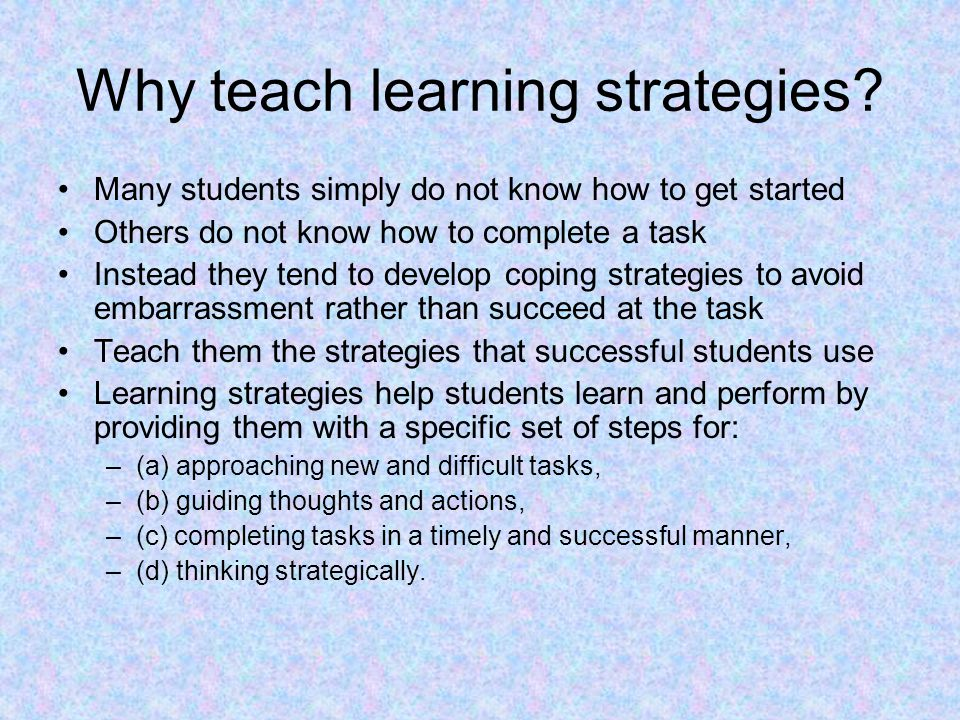 Chapter 10 Teaching and Learning Strategies - ppt video