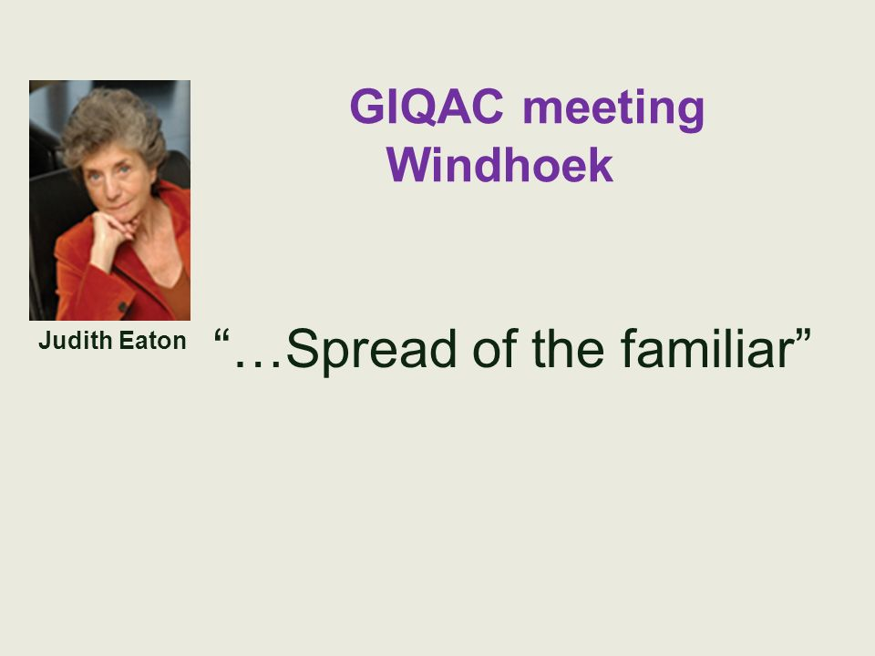 GIQAC meeting Windhoek