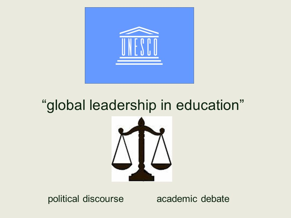 global leadership in education