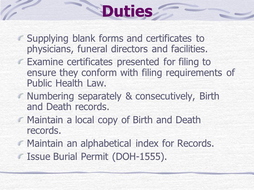 Local Registrars Procedures Ppt Download
