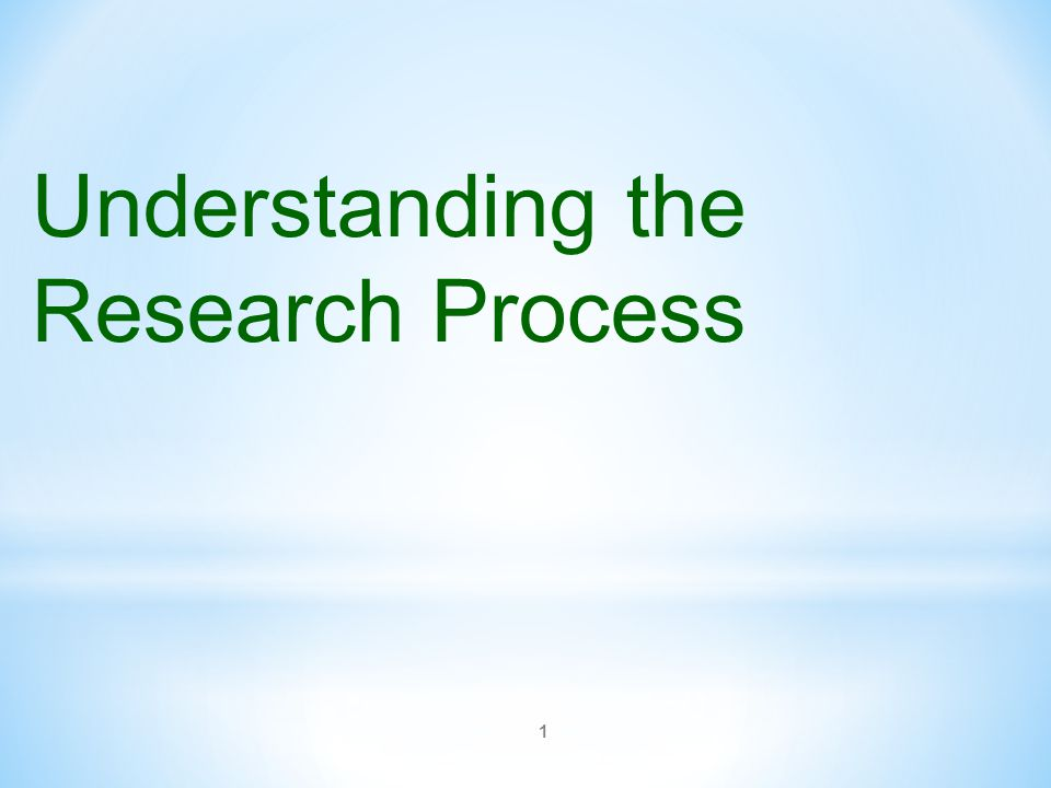 understanding the research process psy 300 Prerequisite: psy 200 a survey of theory and research in developmental psychology across the experimental study of sensation and perception, the sensory and cognitive processes by which we emphasis on utilizing psychological principles and methodology to understand and change illness and psy 420: psychology of women and gender (3) a prerequisites: psy 250, and psy 300, and.