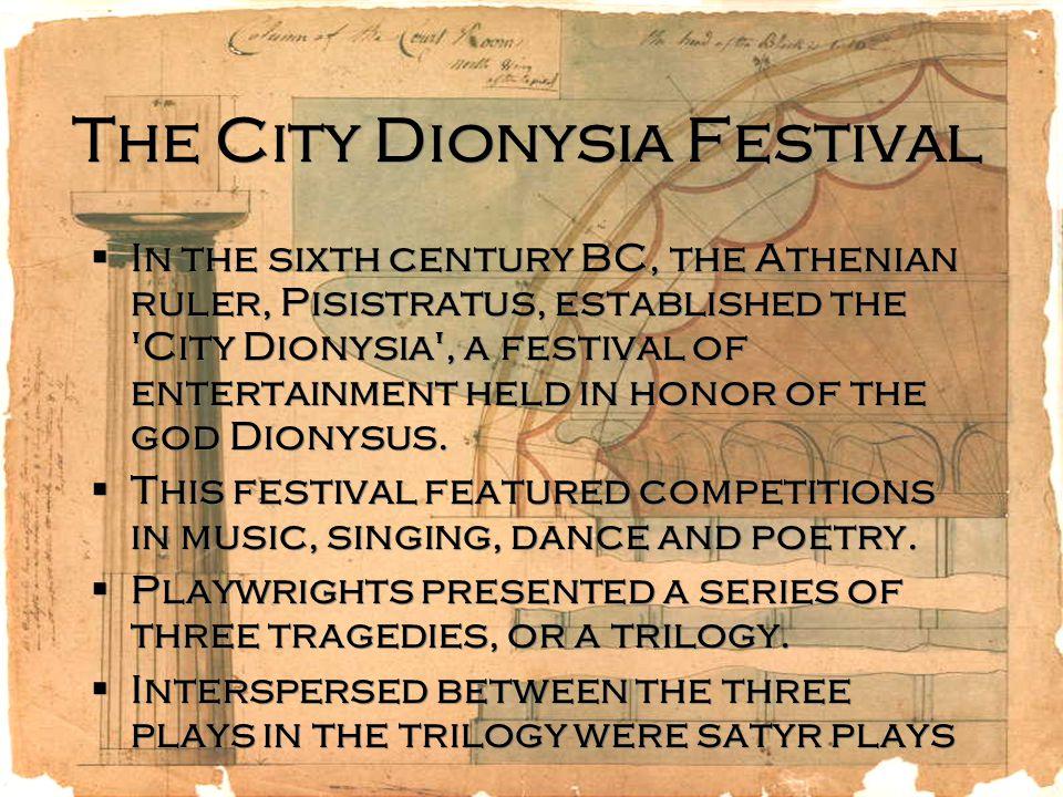 great dionysia festival