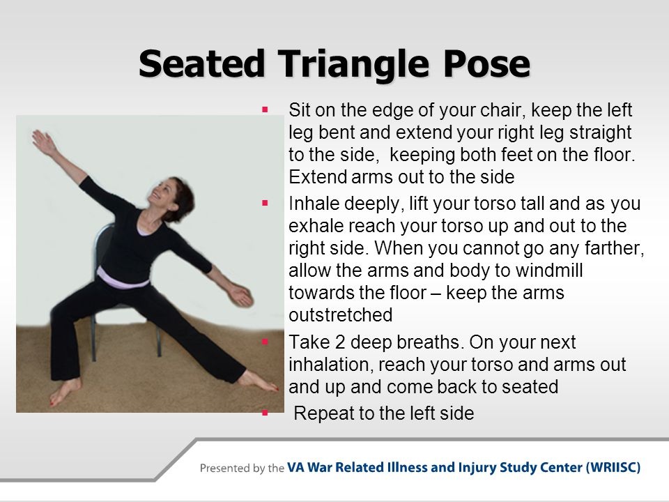 Seated Triangle Pose