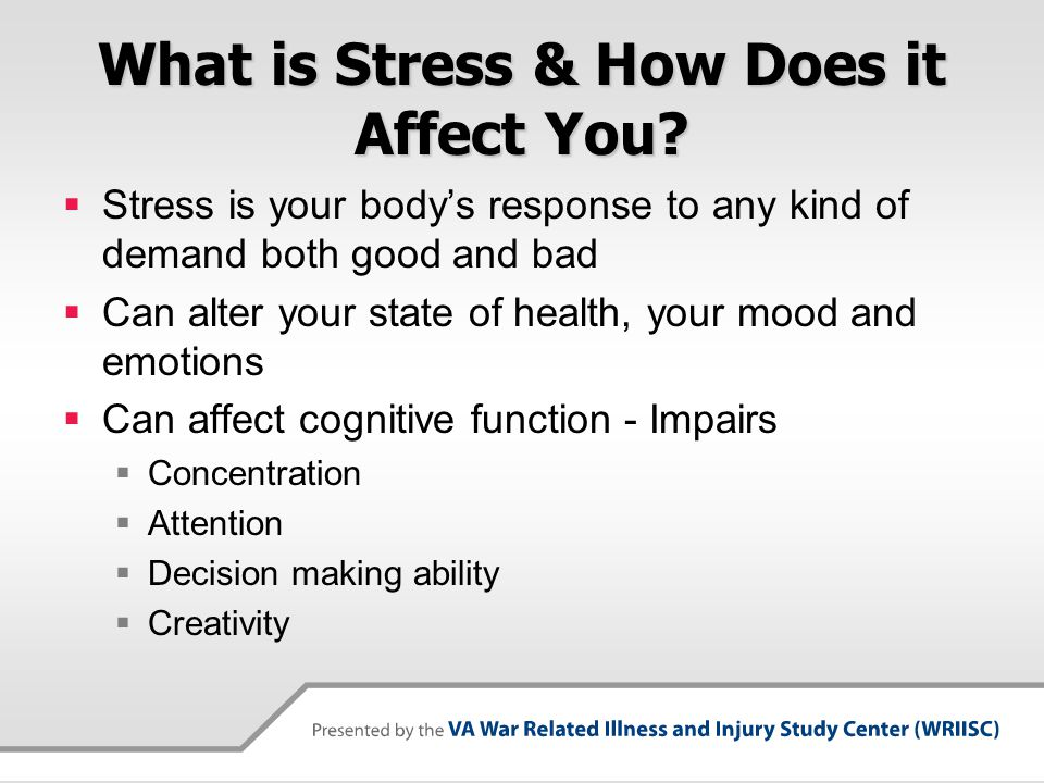What is Stress & How Does it Affect You