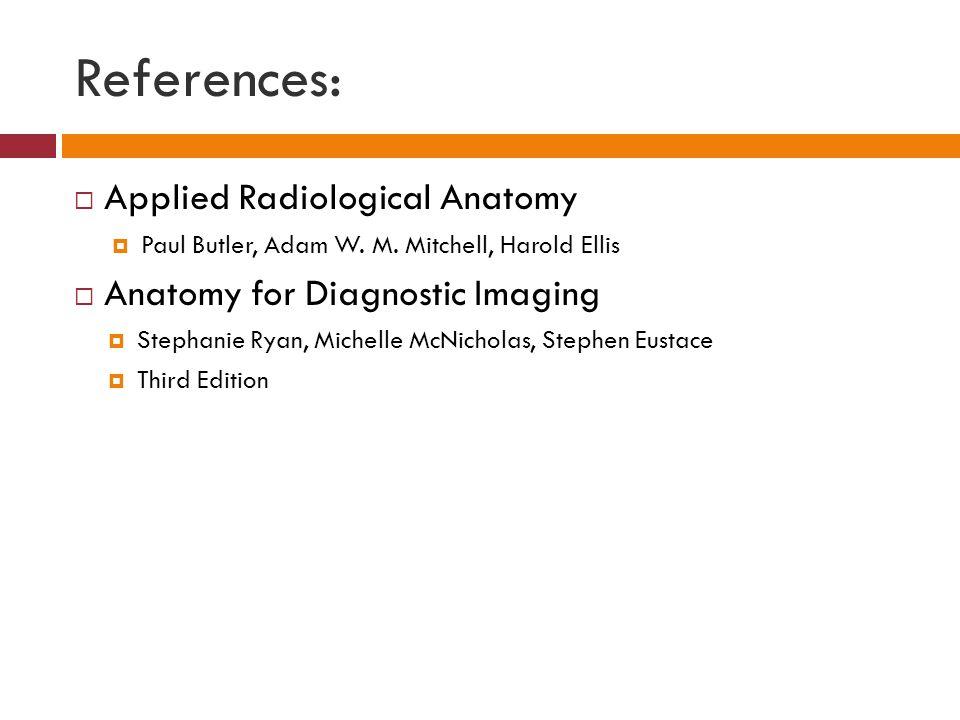 applied radiological anatomy paul butler pdf