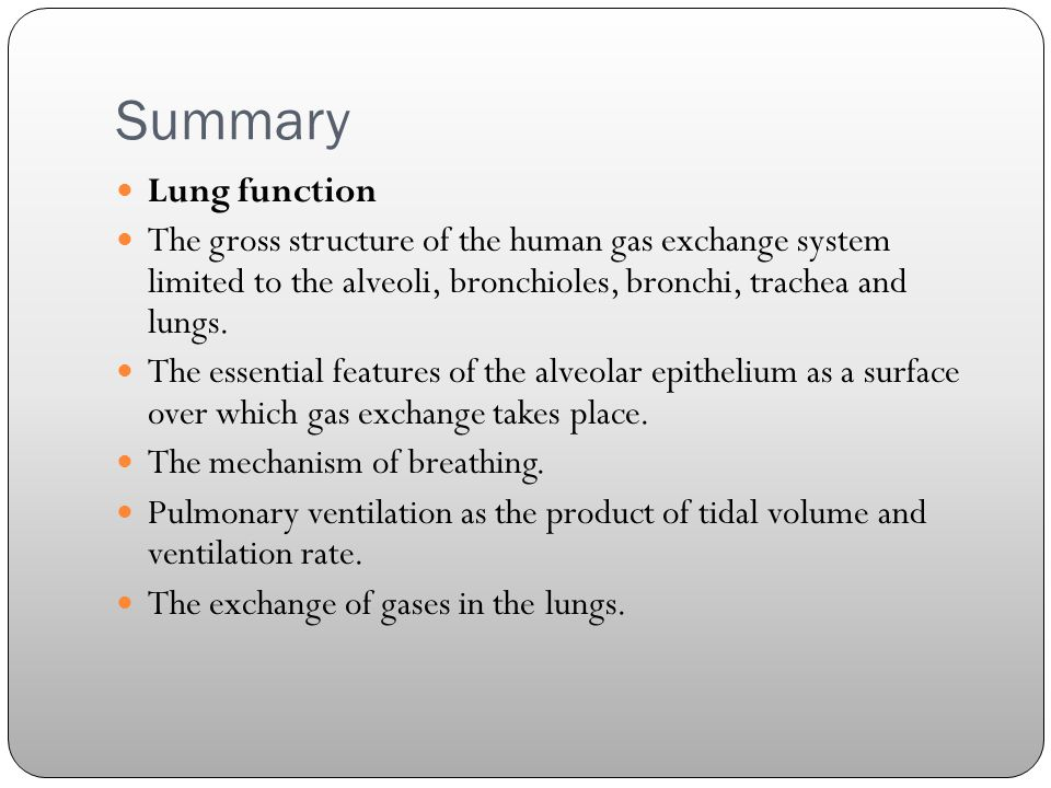 Lung function & Structure - ppt video online download