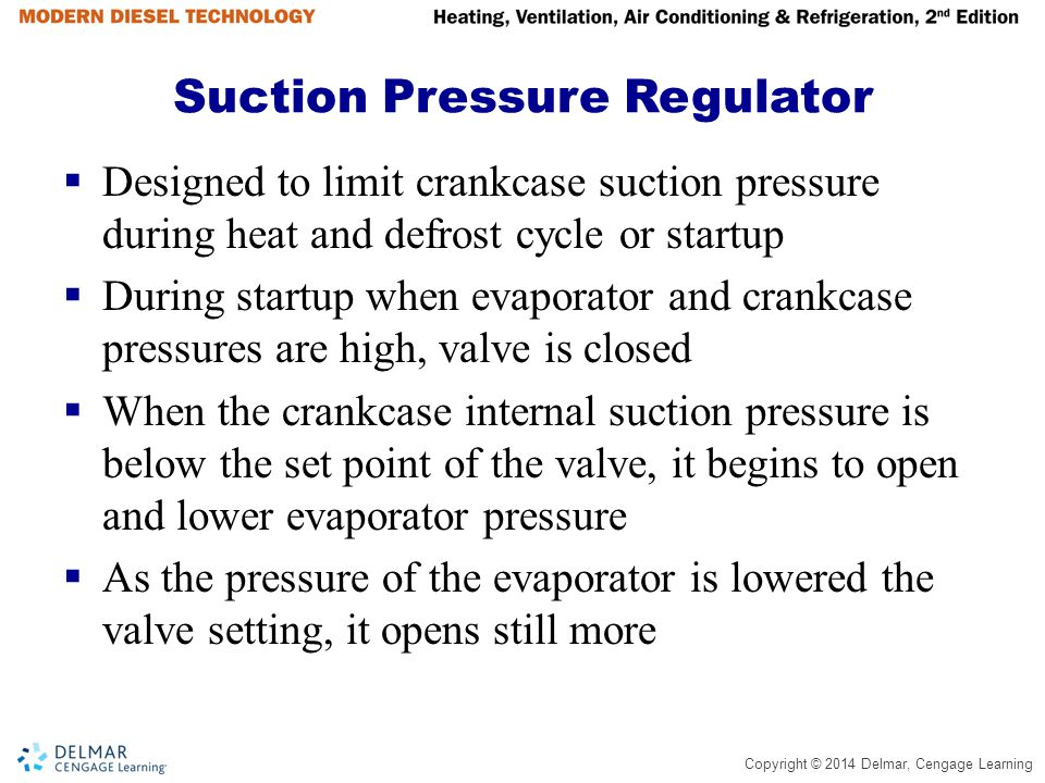 Suction Pressure Regulator