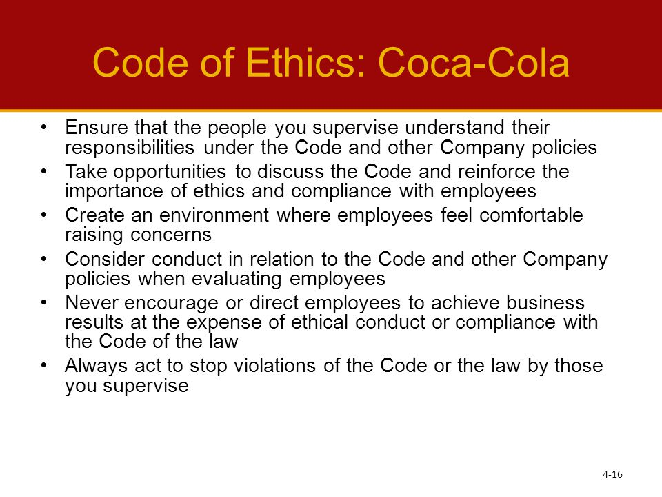 coca cola ethical issues